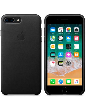 Чехол для iPhone Apple iPhone 8 Plus / 7 Plus Leather Black